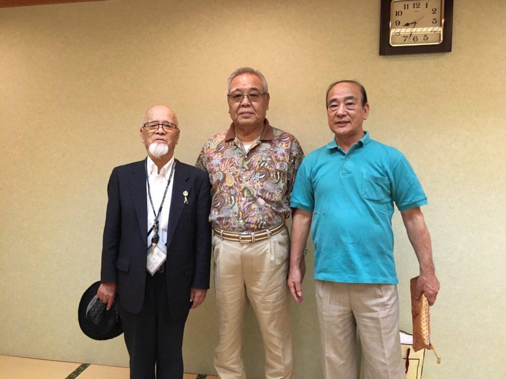 左から、中村会長(総武)、桂国総師範、武藤会長(東京)